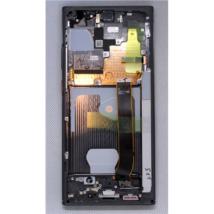 LCD Kijelző Samsung N985 Note 20 Ultra fekete ORG GH82-23511A GH82-23622A