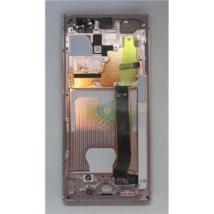 LCD Kijelző Samsung N985 Note 20 Ultra bronz ORG GH82-23511D GH82-23622D