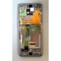 LCD kijelző Samsung G988 S20 Ultra szürke ORG GH82-26032B GH82-24925B