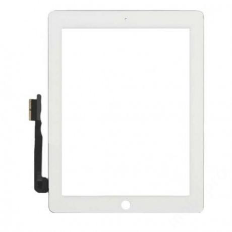 előlap iPad 4 fehér ORG