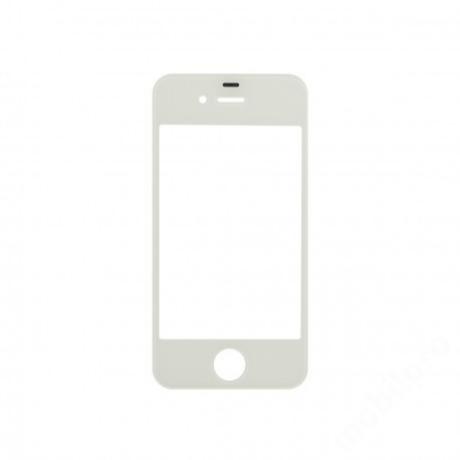 előlap üveg iPhone 4S fehér !AKCIÓS!