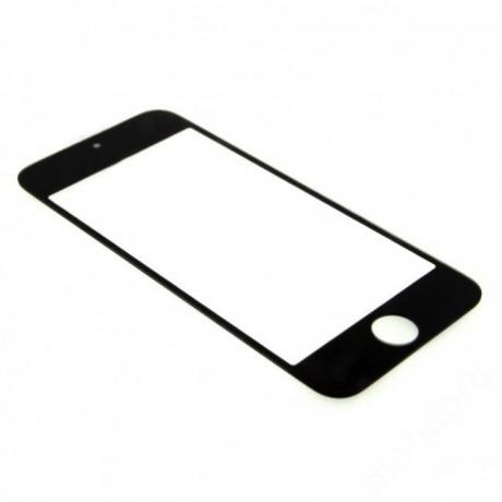 előlap üveg iPhone 5 - iPhone 5C - iPhone 5S fekete !AKCIÓS!