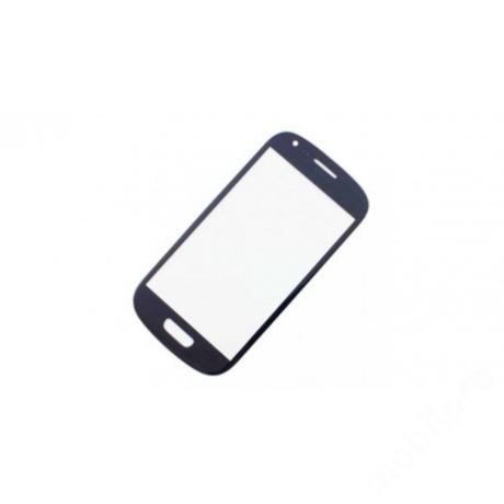előlap üveg Samsung S3 mini kék !AKCIÓS!