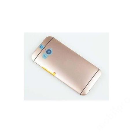 hátlap HTC M8 arany !AKCIÓS!