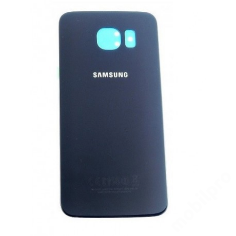hátlap Samsung G920 S6 fekete ORG  GH82-09548A !AKCIÓS!