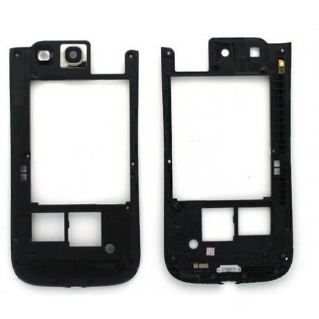 hátlap-keret Samsung i9300 S3 fekete !AKCIÓS!
