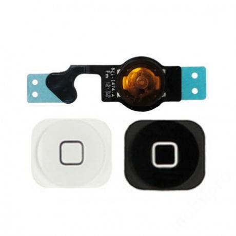 homeflex iPhone 5 fekete + gomb