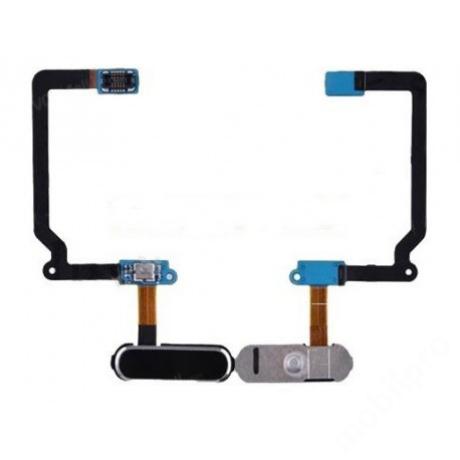 homeflex Samsung G900 S5 fekete  + gomb !AKCIÓS!