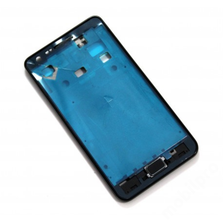 LCD keret Samsung i9100 S2 fekete + gomb !AKCIÓS!