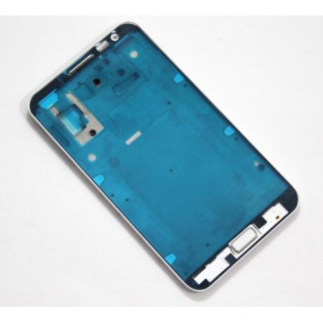LCD keret Samsung N7000 Note fehér + gomb !AKCIÓS!