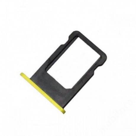 sim tálca iPhone 5C sárga