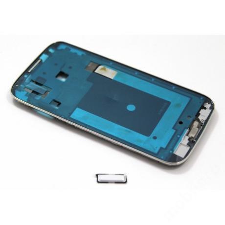 LCD keret Samsung i9500 S4 Asia fehér + gomb !AKCIÓS!