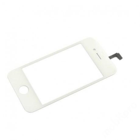 előlap üveg + érintő iPhone 4S fehér !AKCIÓS!