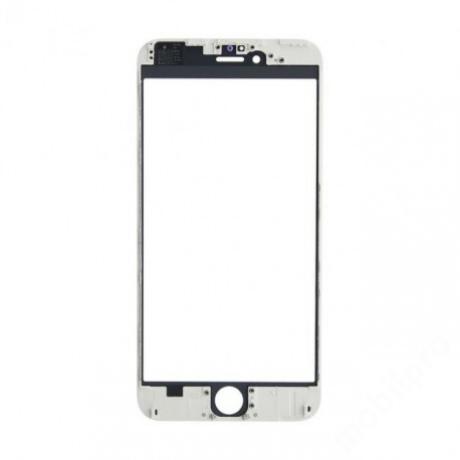 előlap üveg + keret iPhone 6 fehér