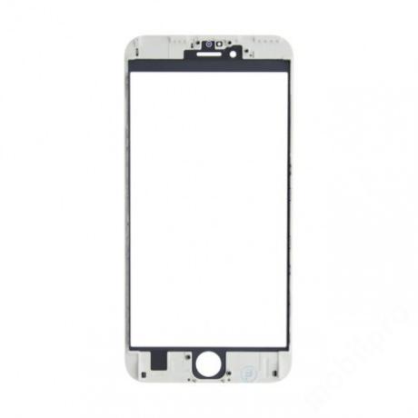 előlap üveg + keret iPhone 6S Plus fehér !AKCIÓS!