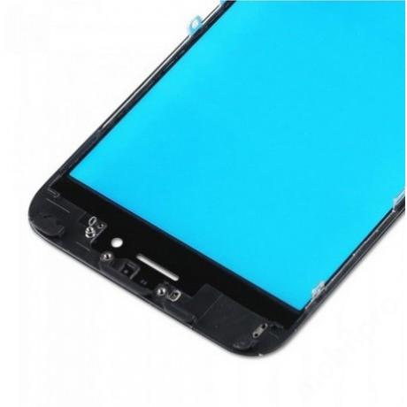 előlap üveg + keret iPhone 6S fekete