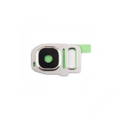 kameralencse üveg Samsung G930 S7 fehér