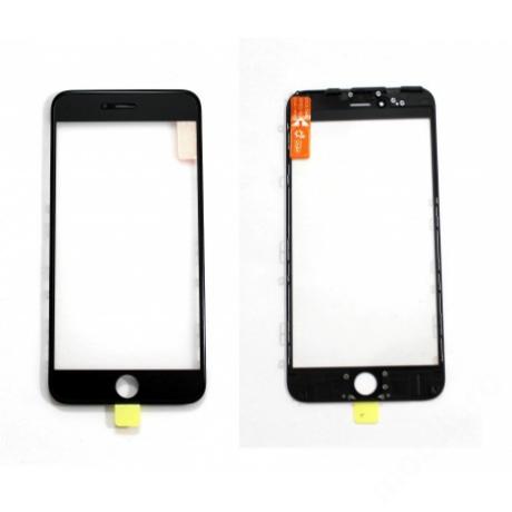 előlap üveg + keret + OCA iPhone 6 Plus fekete