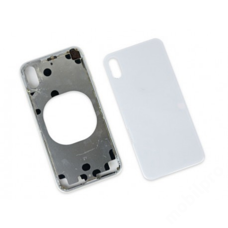 hátlap iPhone X fehér logo nélkül