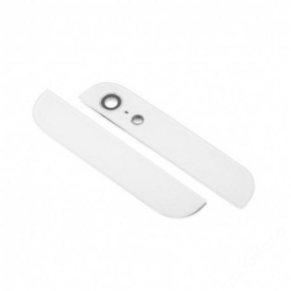hátlapi üvegcsíkok iPhone 5 ORG fehér