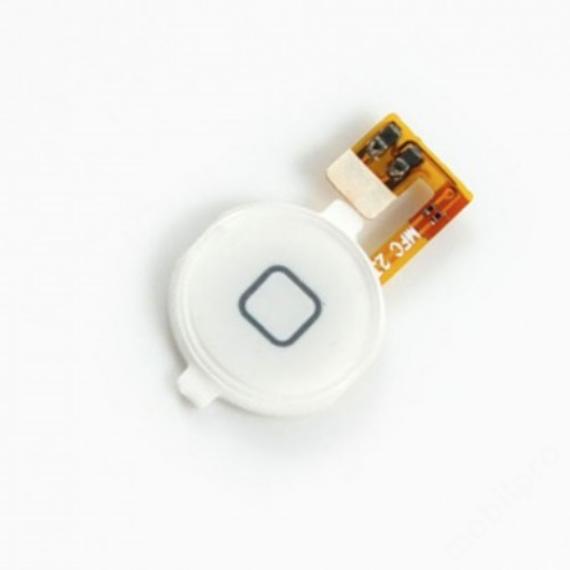 homeflex iPhone 3G - iPhone 3GS fehér + gomb !AKCIÓS!