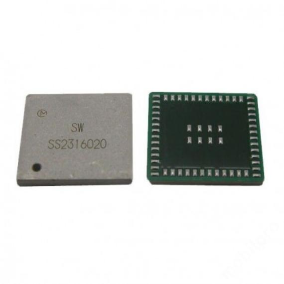 IC audio iPhone 5 ezüst rész *