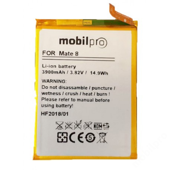 akkumulátor Huawei Mate 8 Li-Ion 3900mAh