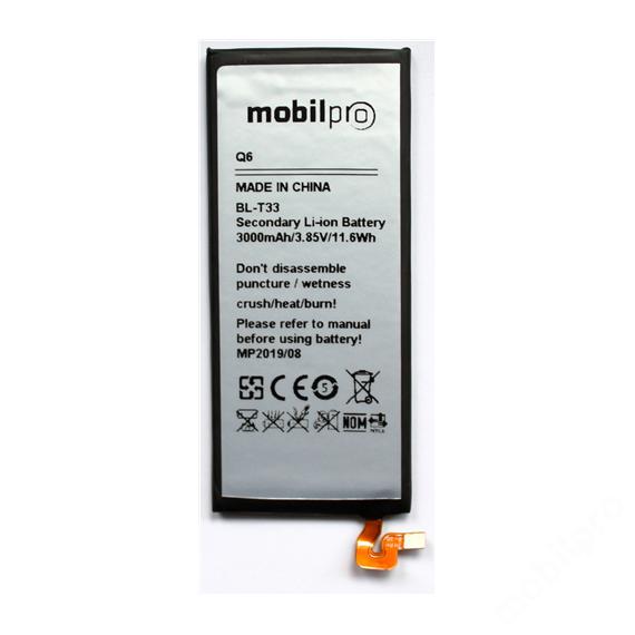 akkumulátor LG Q6 BL-T33 Li-Ion 3000mAh